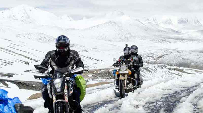 Motor Biking in-Ladakh